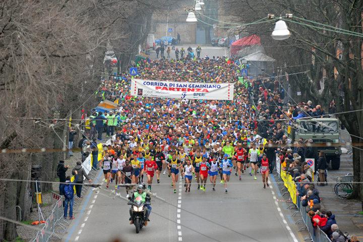 Bekele e Incerti vincono la 44ª Corrida di San Geminiano. La Fratellanza brinda con Francesca Bertoni (terza) e Simone Colombini primo italiano e quinto assoluto