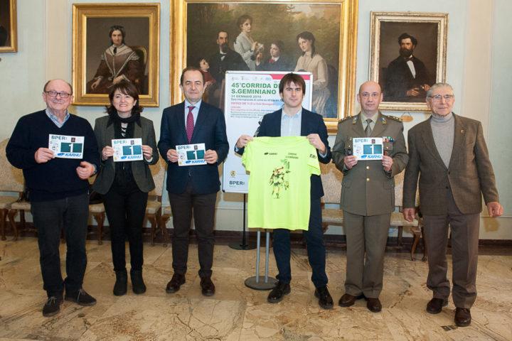 Presentata oggi la 45ª edizione della Corrida di San Geminiano